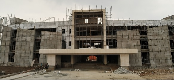 New Campus Admin Block- Under Construction