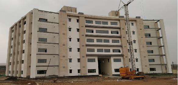 New Campus Academic Block Back View